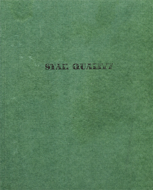 Star Quality, Artist Book, 2010