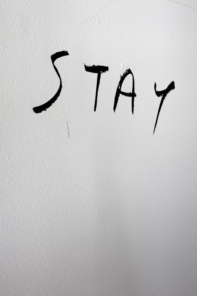 Stay the